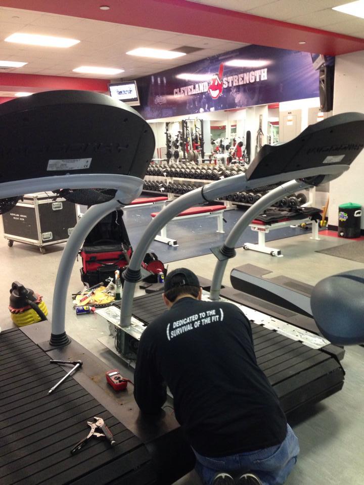 Zimmer Treadmill Repair
